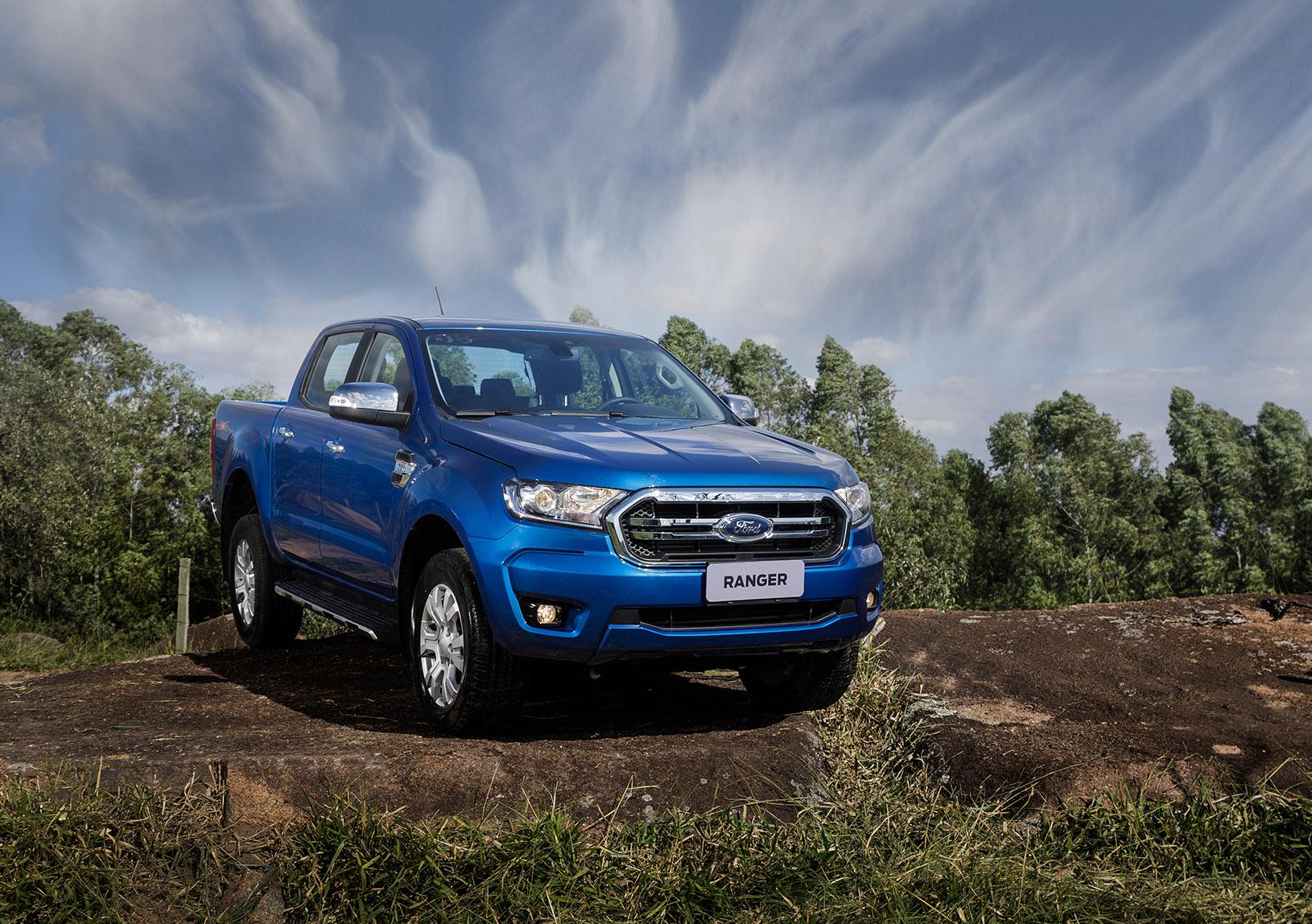 Em maio, Ford Ranger vendeu bem e assume a vice-liderança das picapes