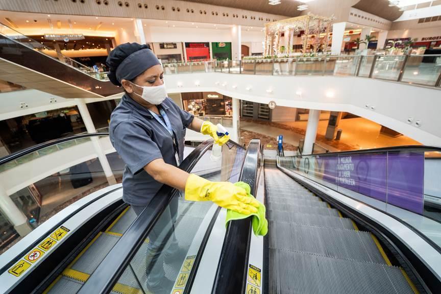 Shoppings do Grupo JCPM adotam medidas de segurança antes de reabertura para o público