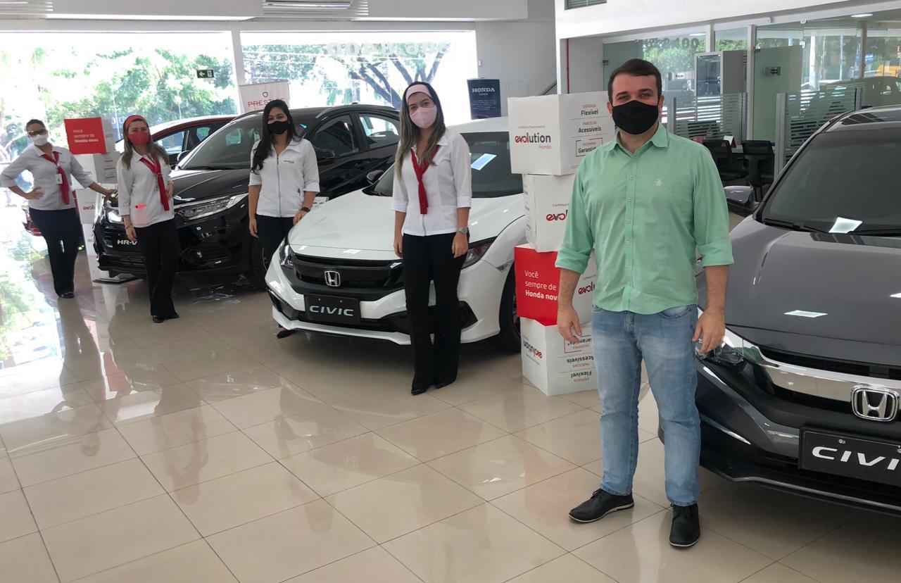 Honda Novaluz reabre com protocolos de prevenção e segurança para o cliente