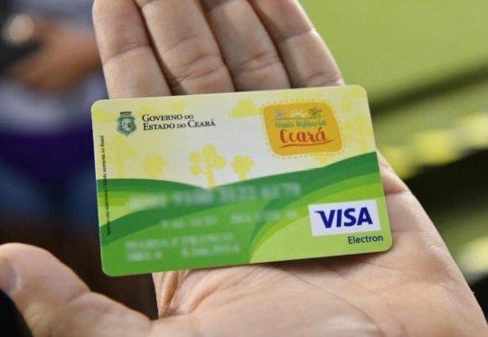 Governo do Ceará antecipa pagamento do Cartão Mais Infância para 45 mil famílias