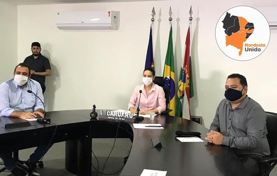 Prefeita de Caruaru anuncia festa de São João solidária. Vem saber!