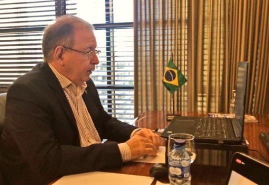 Ricardo Cavalcante debate a retomada econômica e importância da testagem