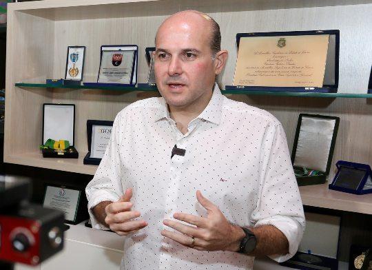 Roberto Cláudio comemora os bons índices epidemiológicos de Fortaleza