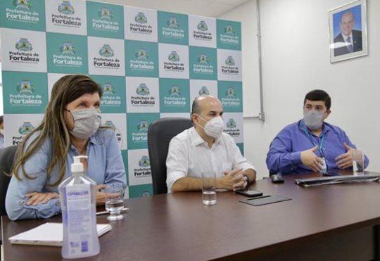 Prefeitura de Fortaleza lança sistema de atendimento em domicílio para Covid-19