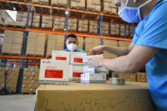 Governo do Ceará já distribuiu mais de 470 mil testes rápidos de Covid-19