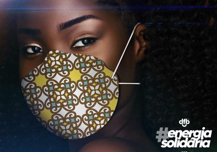 DFB Digifest doará máscaras com estampas produzidas por designers e marcas parceiras