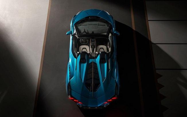 Lamborghini e seu conversível híbrido de 819 cv!