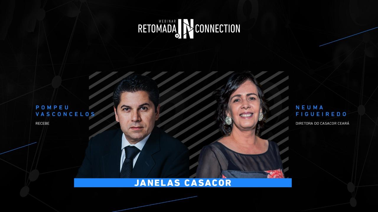Neuma Figueiredo descortina as Janelas CasaCor em Live com Pompeu Vasconcelos. Assista!