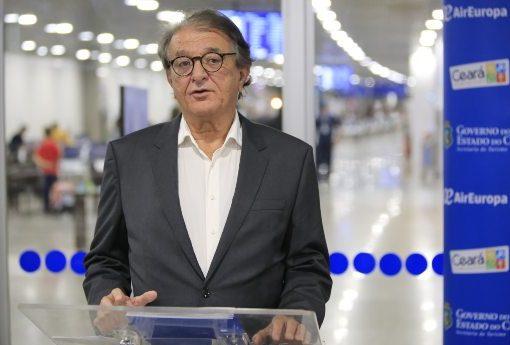 Arialdo Pinho afirma que o Ceará está pronto para receber turistas estrangeiros