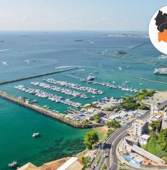 Bahia Marina, em Salvador, recebe selo Turismo Responsável