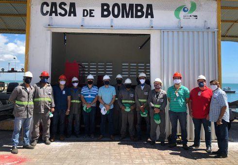 CDC reforça segurança contra incêndios no cais comercial do Porto de Fortaleza