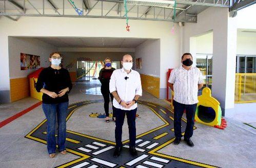 Prefeitura de Fortaleza entrega Centro de Educação Infantil na área da Regional VI