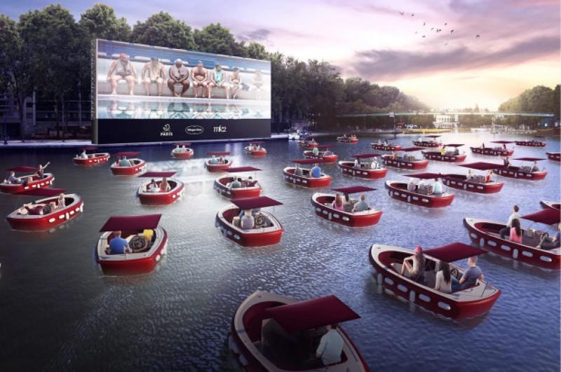 Paris se prepara temporada de cinema flutuante. Vem saber!