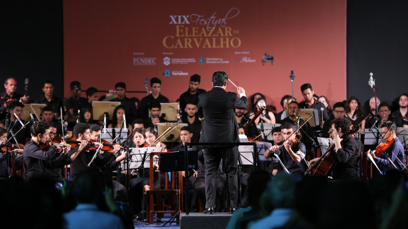 Encerramento do Festival Eleazar de Carvalho será transmitido ao vivo em telão no Iguatemi Fortaleza