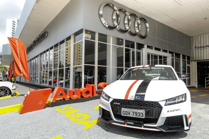 """Audi, do Grupo Palácio, ganha como melhor """"pós-venda"""" da marca no Brasil"""
