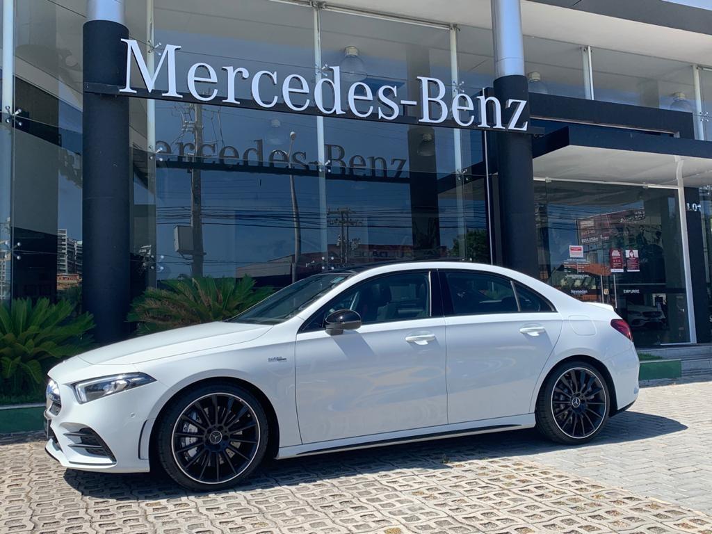 Mercedes-AMG A 35 Sedan já se encontra na Newsedan