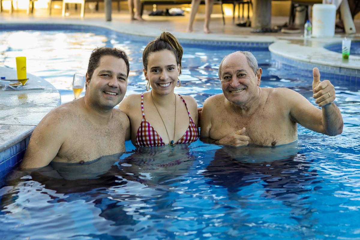Fernando Dinia, Gabriela Ventura E Demerval Diniz