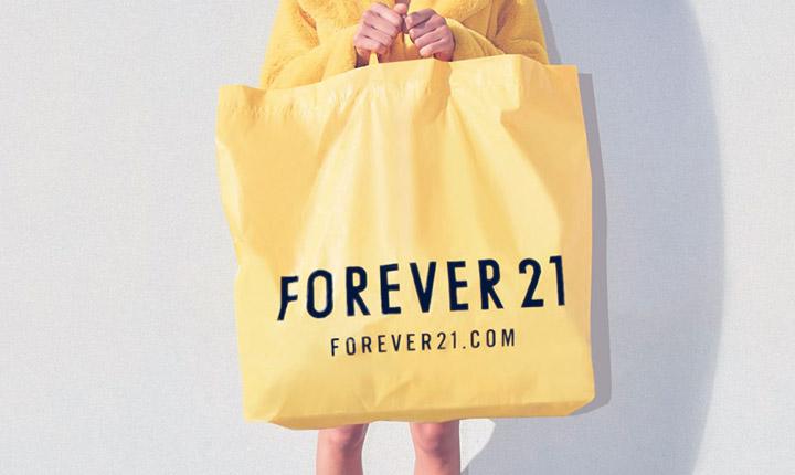 Forever 21 lança e-commerce no Brasil com entrega em todo o país