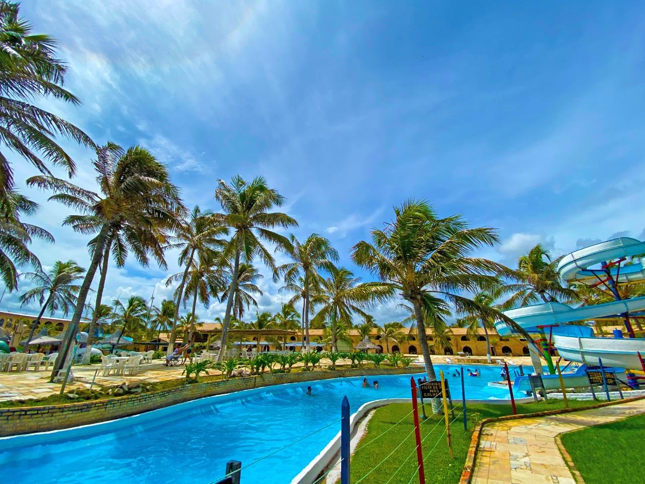 Hotel Parque das Fontes, em Beberibe, se prepara para reabertura no dia 10 de agosto