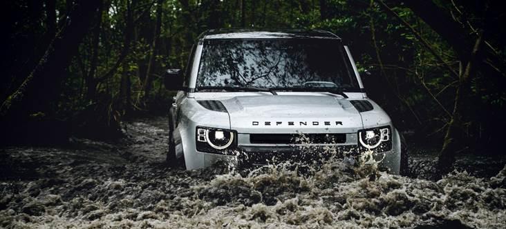 De geração nova, Novo Defender da Land Rover chega com tudo!!