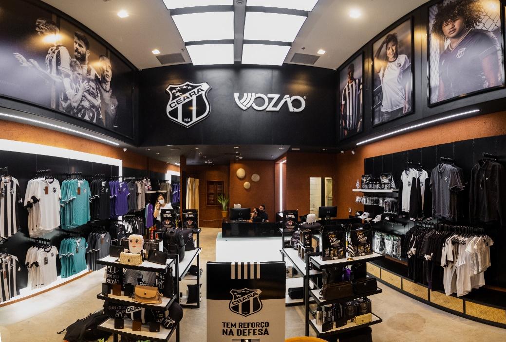 Ceará Sporting Club inaugura loja conceito no RioMar Kennedy