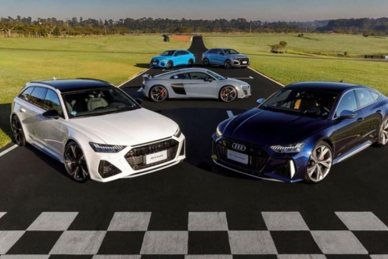 Audi Fortaleza inicia pré-venda dos novos esportivos TT RS, RS6, RS7, RSQ3, RSQ8 e RSQ3 sportback
