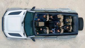 Lancamento Land Rover Interior Teto