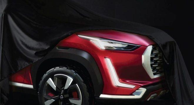 """SUV menor que o Kicks, o Magnite já é apresentado em país """"emergente"""""""