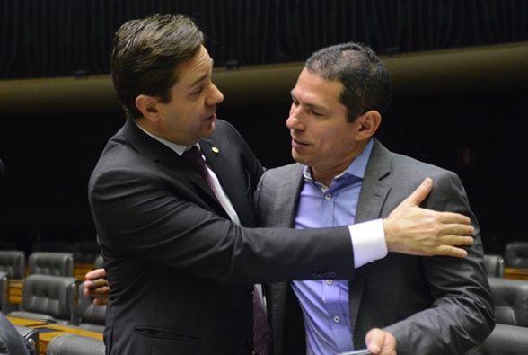 Eduardo Bismarck traz o deputado Marcelo Ramos para encontro em Fortaleza