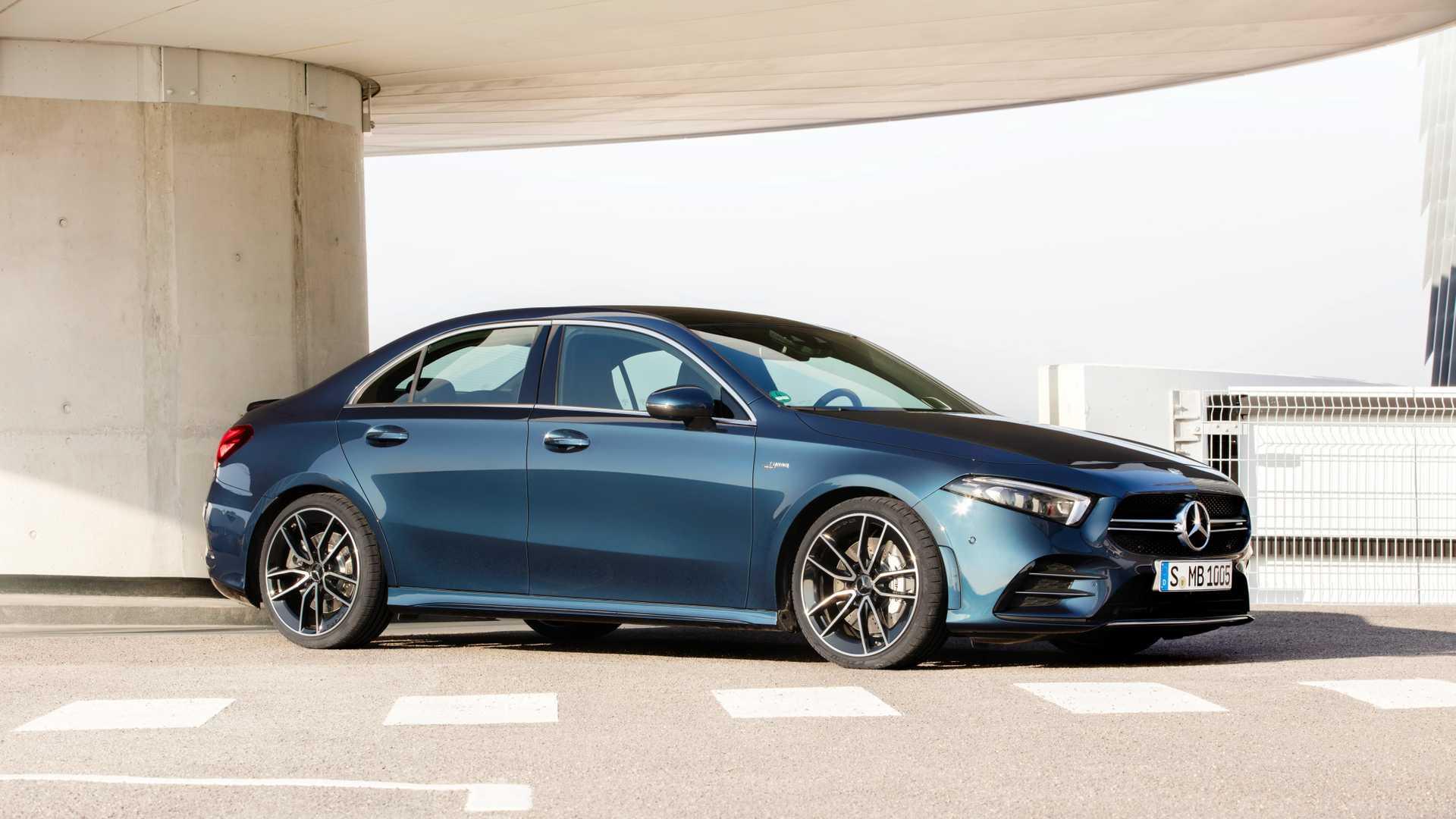 Newsedan contando os dias para receber o Mercedes-AMG A 35 Sedan