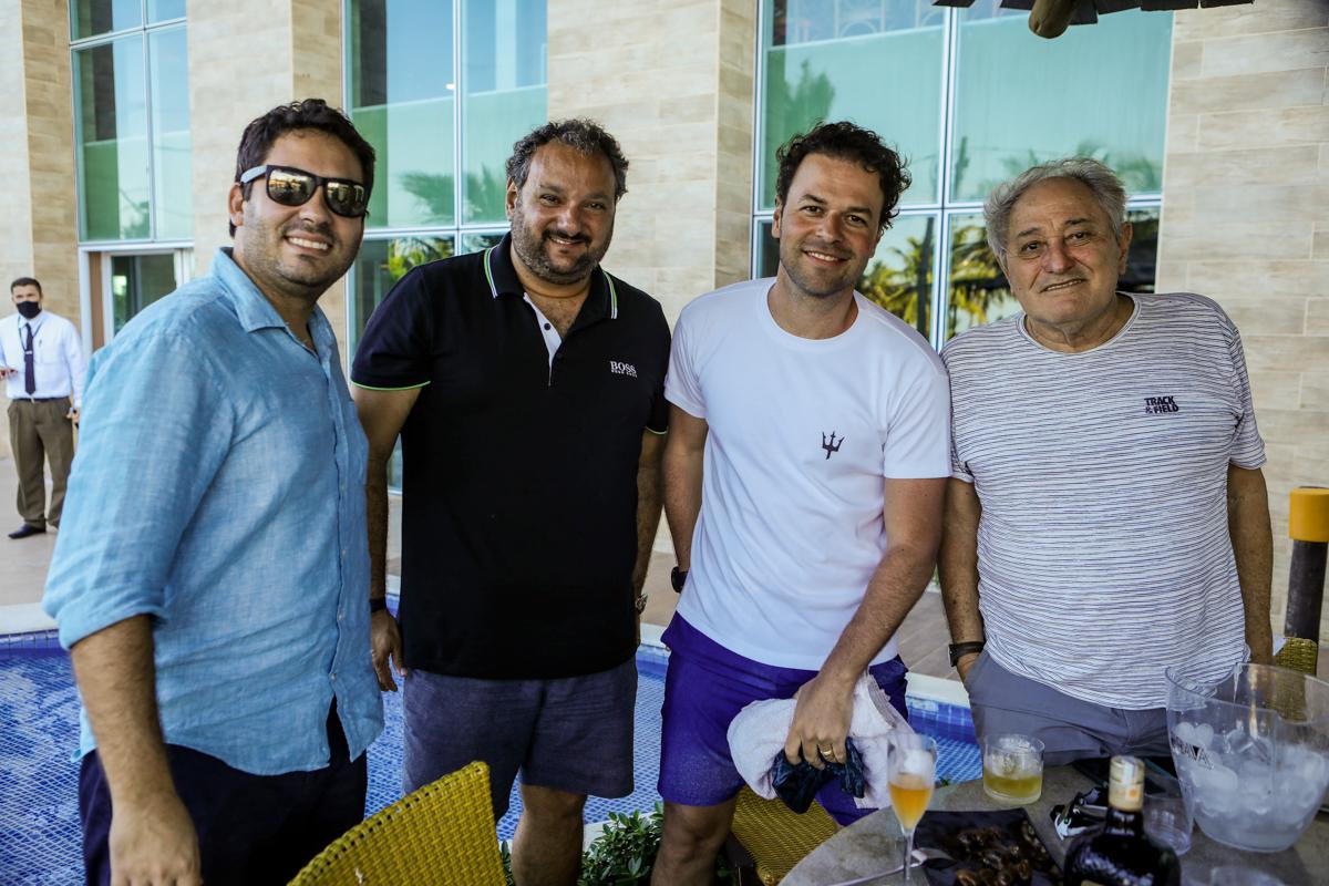 Roberto Fortes, Patriolino Dias, Geraldo Rola E Demerval Diniz