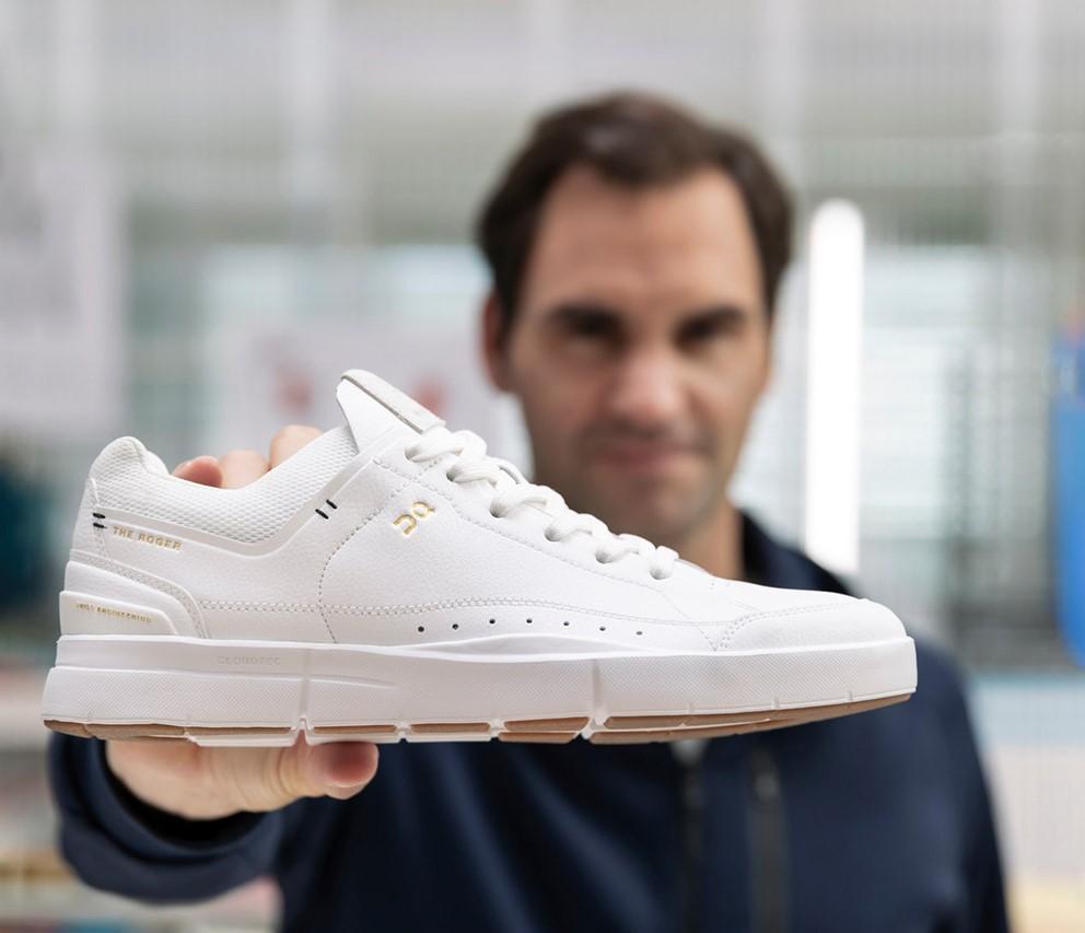 Roger Federer lança tênis de couro vegano com marca suíça
