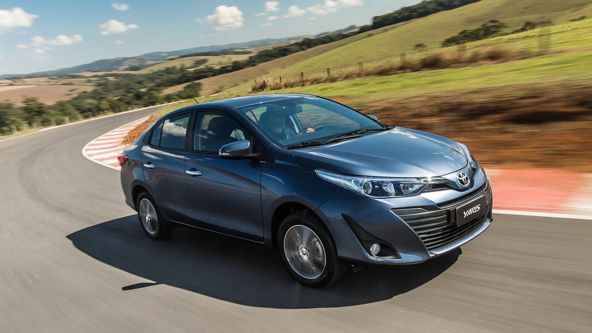 No financiamento, Toyota Yaris é o mais vendido neste primeiro trimestre