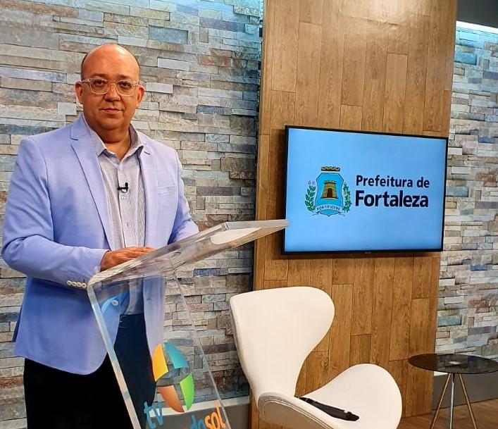 Paulinho Leme integra o time de apresentadores do novo canal da Prefeitura de Fortaleza