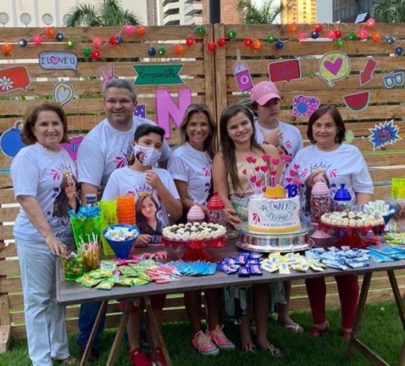 Surpresa e alegria marcam a troca de idade de Natalia Queirós