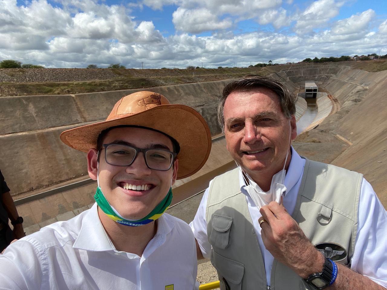 Após encontro com Bolsonaro, Carmelo Neto reafirma sua pré-candidatura a vereador de Fortaleza