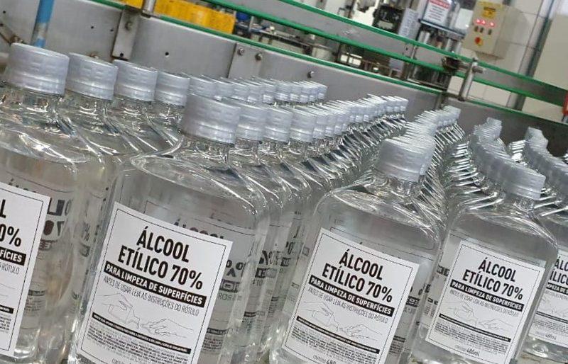 Em ação conjunta com a Cruz Vermelha, e-commerce da Diageo doará álcool 70% para instituições cearenses