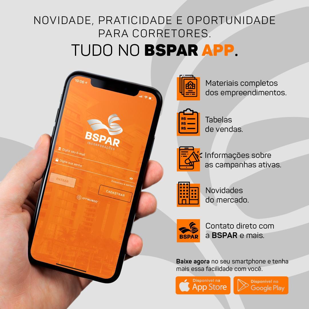 Bspar cria aplicativo exclusivo para corretores de imóveis
