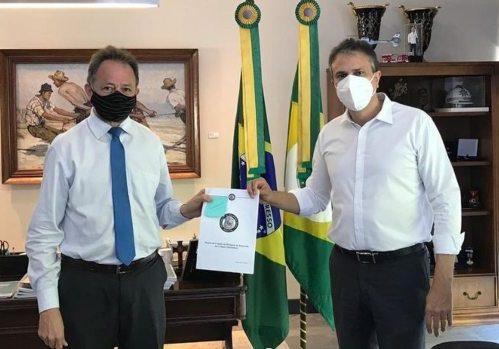 Acrísio Sena solicita criação da Delegacia de Repressão aos Crimes Cibernéticos