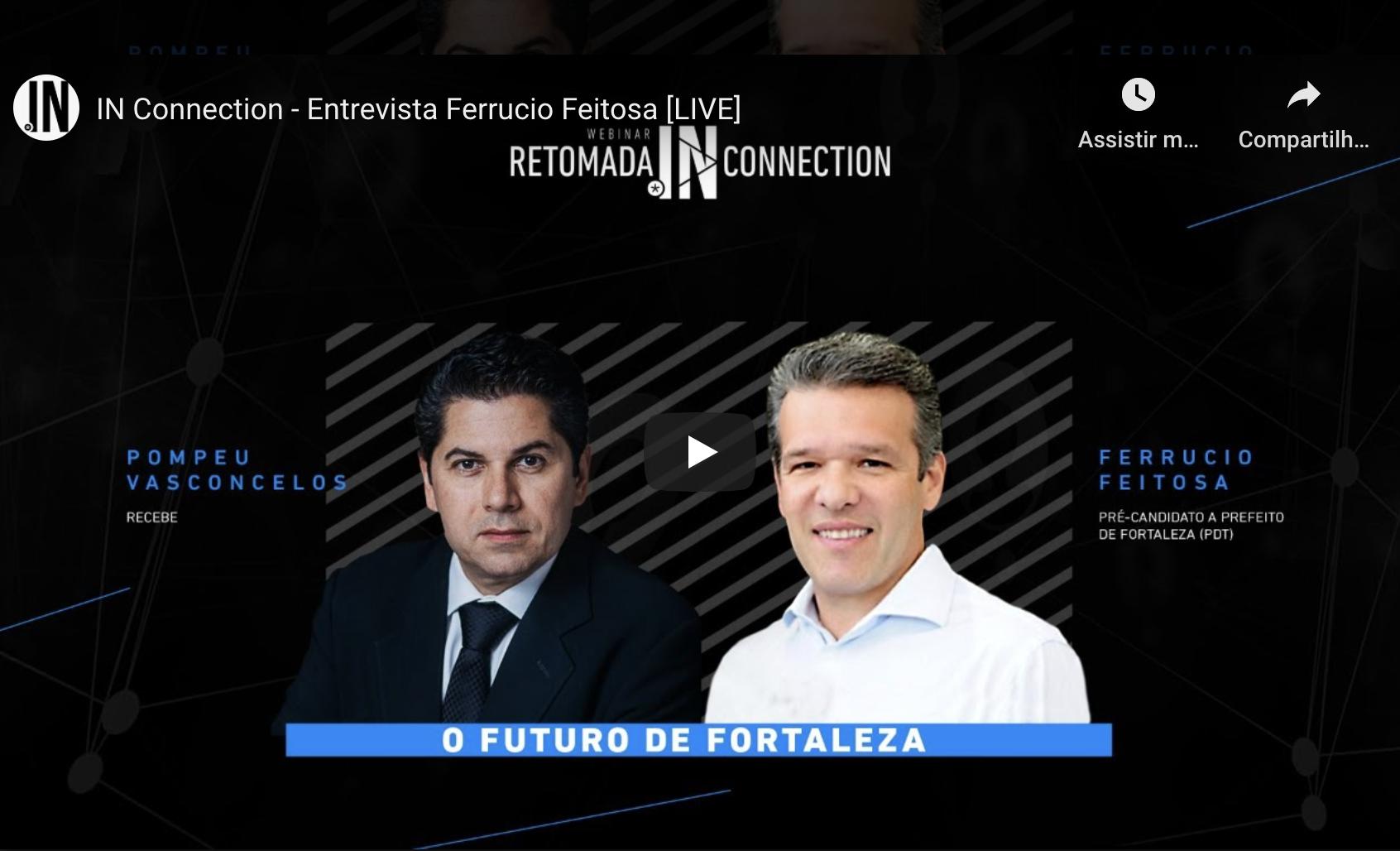 Ferruccio Feitosa fala de suas propostas para fazer Fortaleza continuar avançando