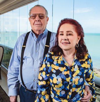 Feliz, de bem com a vida e rodeado da família! É assim que Edson Ventura chega hoje aos 88 anos