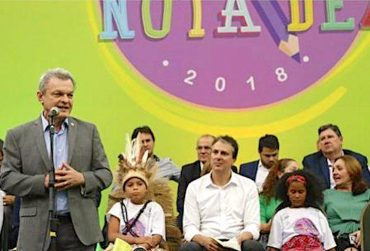 Governo do Ceará promove a 12ª edição do Prêmio Escola Nota Dez nesta terça