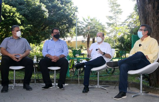 Roberto Cláudio lança programa que vai implantar microparques urbanos