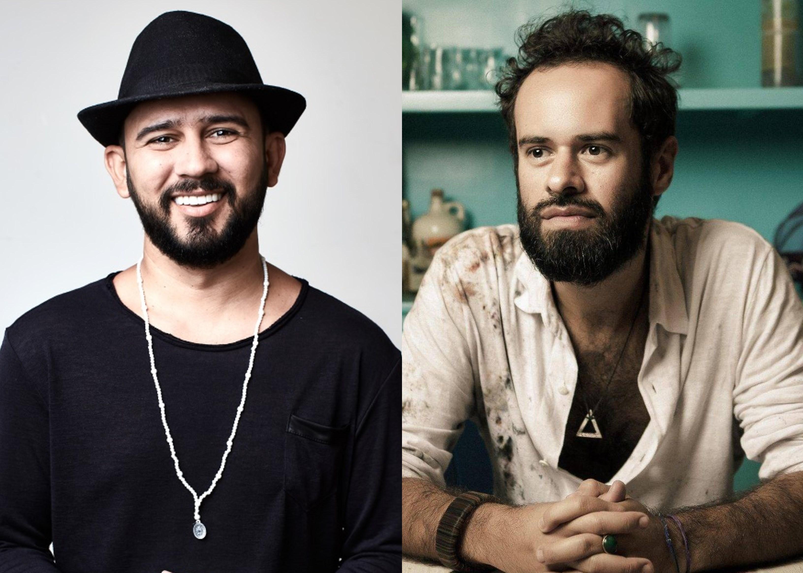 Bráulio Bessa e Marcelo Jeneci fazem apresentação em prol do Mesa Brasil Sesc