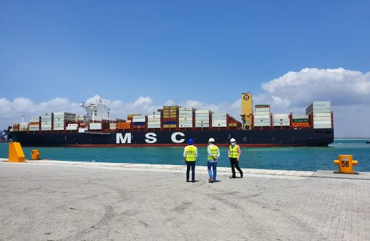 Porto do Pecém recebe o maior navio de sua história e se consolida como entrada no NE para a navegação de longo curso