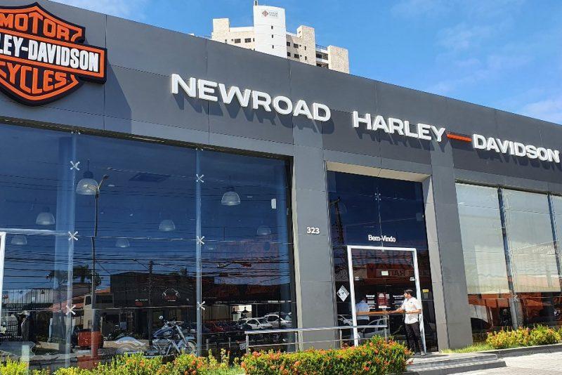 De casa nova, a Newroad, da Harley-Davidson, ganha espaço e melhor localização