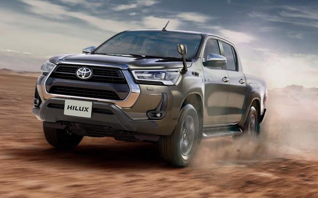 Toyota apresenta no Japão a linha 2021 da Hilux