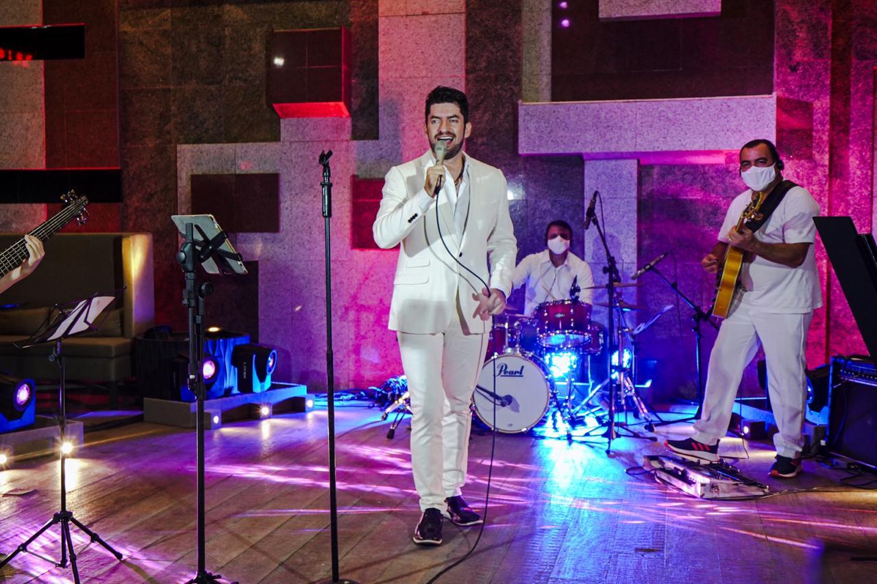 Gran Live marca a reabertura do Hotel Gran Marquise. Assista a gravação aqui!