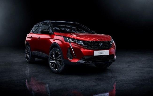 Prestes a aportar em 2021, Peugeot 3008 já aparece de visual enxuto e itens novos