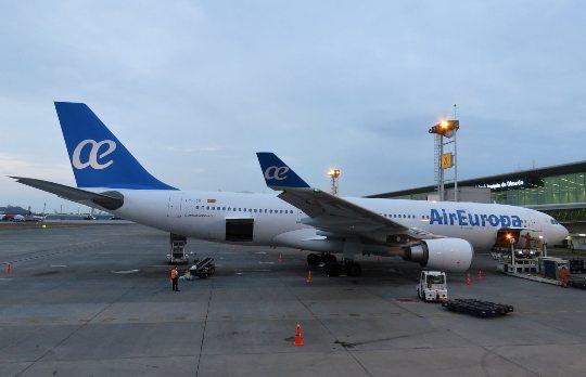 Air Europa realiza promoções especiais para reaquecer a economia do turismo